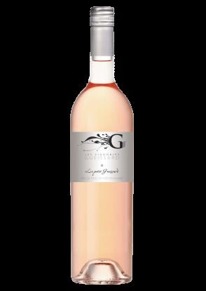 Wijn fles le petit guissard Rose